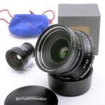 Voigtlander フォクトレンダー SNAPSHOT-SKOPAR スナップショットスコパー 25mm F4 MC VLマウント + 純正ファインダー