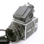 Hasselblad ハッセルブラッド☆500C/M+A24マガジン+PMEプリズムファインダー+Planar プラナー CF80mmF2.8 T*