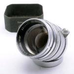 LEICA ライカ Summarit ズマリット 50mm F1.5 L 1954年製(中村光学OH済) + 純正フード